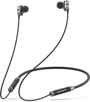 Lenovo HE08 In-ear Bluetooth Handsfree Μαύρο