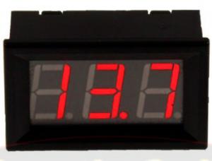 FOUR Mobile 4-VD1R/B/G Βολτομετρο κόκκινο / μπλε / Πράσινο