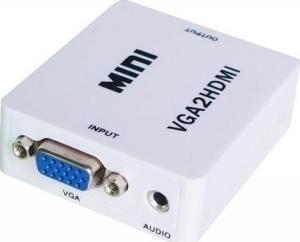 VGA female - HDMI/3.5mm female (VGA2HDMI)