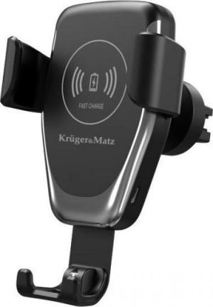 KRUGER&MATZ  KM-0128. Βαση αυτοκινητου με ασυρματο φορτιστη