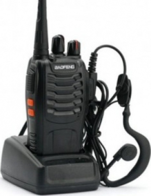 Baofeng BF-888s Φορητός  Μονος πομποδέκτης UHF (PMR) Με hands free