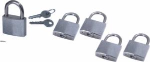 Κιτ 5 κλειδαριών ανοιξείδωτες