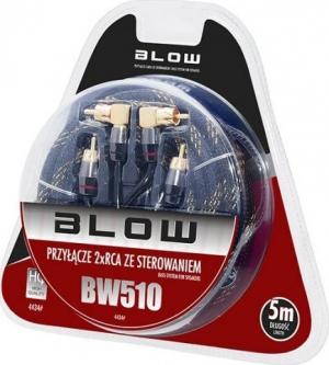 Blow BW-510 Καλώδιο 2RCA-2RCA 5m γωνία