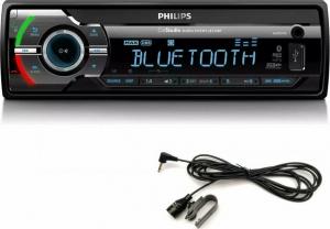 Philips CE235BT/GRS MIC Radio- BT και εξ. μικρόφωνο σετ, είσοδο επιπλέον μικρ., USB, κάρτα SD και Aux-In 4 x 50 W