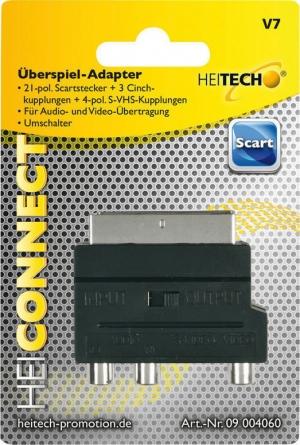 Heitech 09004060 Αντάπτορας RCA σε SCART
