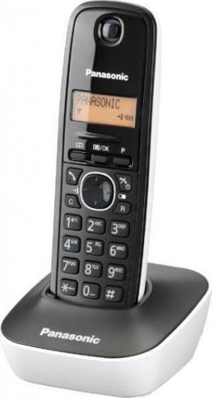 Panasonic KX-TG1611 Μαύρο/Λευκό