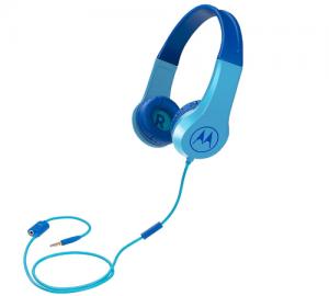 Motorola SQUADS 200 Blue Οn ear παιδικά ακουστικά Hands Free με splitter