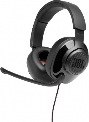 JBL Quantum 200 Black Over-Ear Wired Gaming Headset