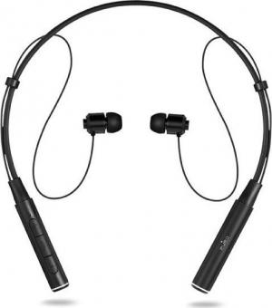 Puro Magnet Neckband In-ear Bluetooth Handsfree Μαύρο