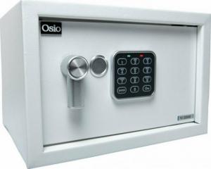 Osio OSB-2031WH Ψηφιακό Χρηματοκιβώτιο με Κλειδί, Ξενοδοχείου Μ31xΠ20xΥ20cm