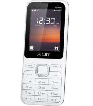 M-Life ML0697W Κινητό τηλέφωνο GSM  Λευκό