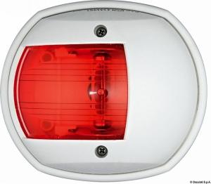 Φανός Πλευρικός Οβάλ LED Κόκκινος